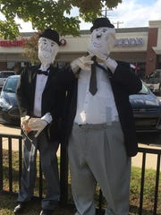 Laurel and Hardy, third-place winner in the adult category.