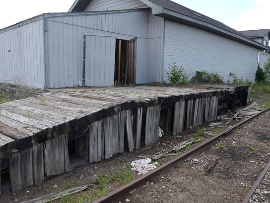 A group hoping to restore and move the railroad depot
