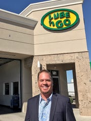Mark Bochnowski, president and part-owner of the Lube 'n' Go oil-change chain in El Paso.