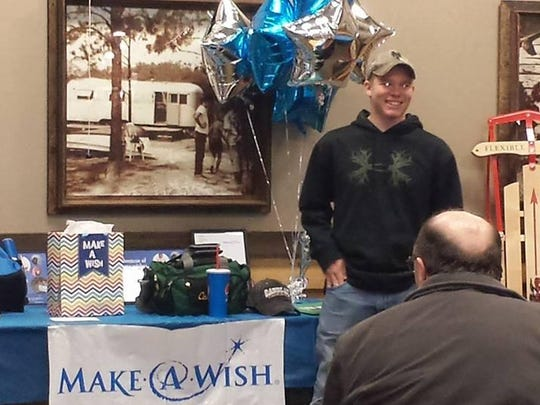 The Make A Wish Foudnation granted St. George student Jack McDermott's wish to go fishing in the Everglades.
