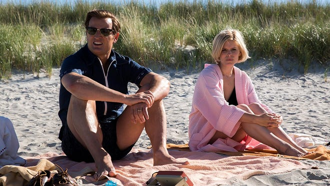 "Jason Clarke as U.S. Sen. Ted Kennedy and Kate Mara as Mary Jo Kopechne in ""Chappaquiddick."""