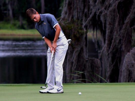 Men's golf: Donnie Trosper