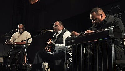 Legendary steel guitar gospel group the Campbell Brothers will perform for the next Three Trails concert will be at 7 p.m. Saturday, July 28,at Canan Commons.