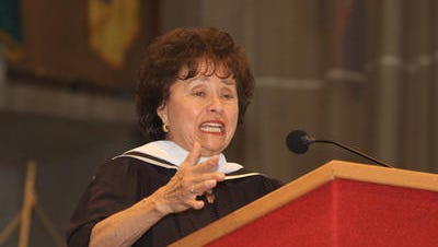 U.S. Rep. Nita Lowey at Rockland Community College in 2012.