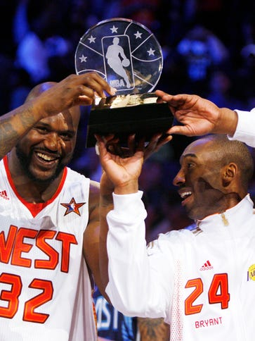 Shaq and Kobe got past their rocky history at the 2009