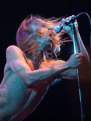 Iggy Pop performs with The Stooges at the Coachella