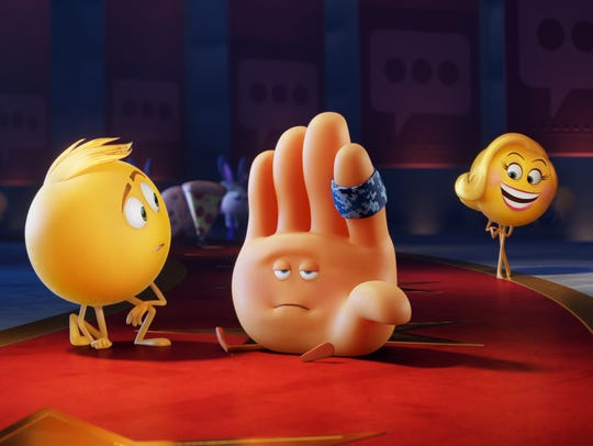 Gene (voiced by T.J.Miller), Hi-5 (James Corden) and