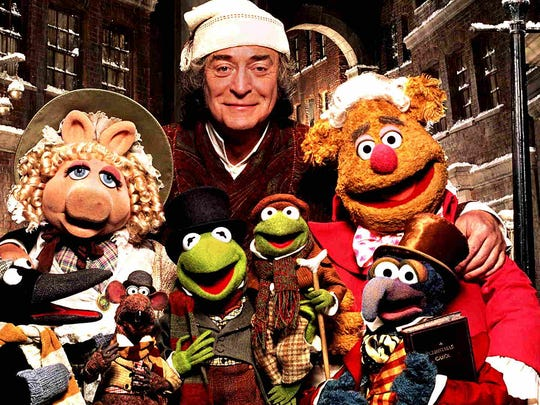 """The Muppet Christmas Carol"" starring Michael Caine."