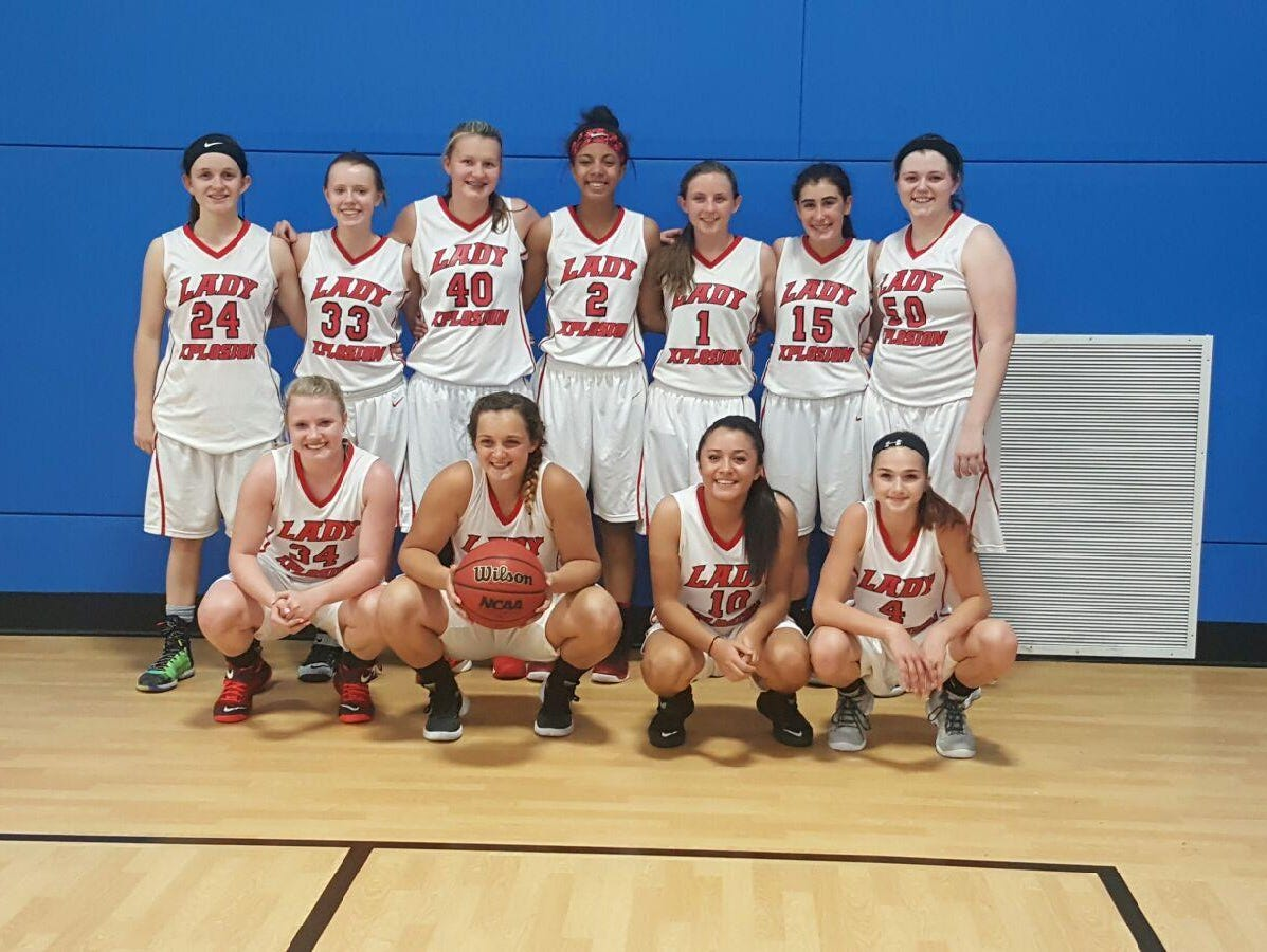 The Lady Xplosion 10th grade girls basketball team won the Twin Cities Classic tournament last weekend in Asheville.