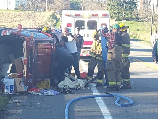 State Route 60 crash