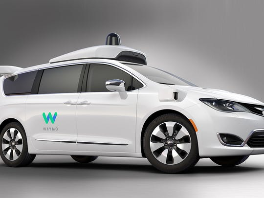 Waymo and FCA announced that production of 100 Chrysler