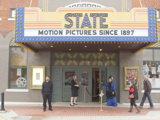 An image of Washington, Iowa's State Theatre, confirmed
