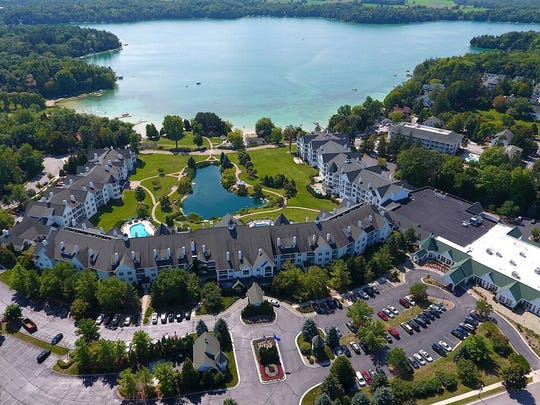 The Osthoff Resort is on Elkhart Lake in Sheboygan County.