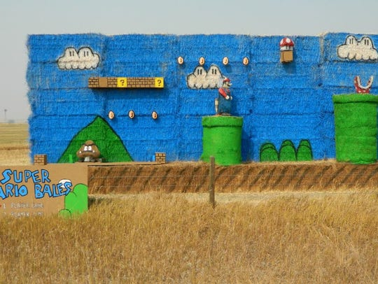 Montana Bale Trail/What the Hay contest: Mario Bales
