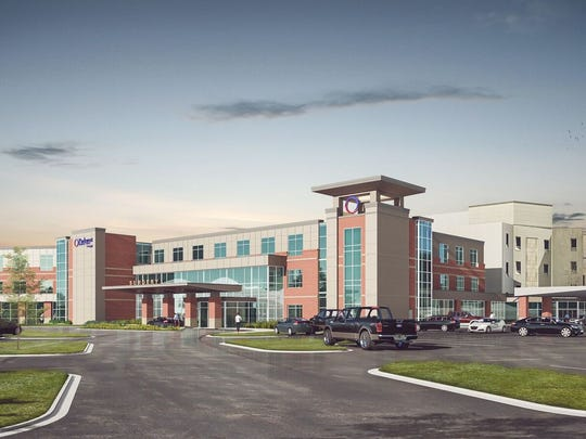 Parkwest Medical Center's planned expansion includes a new tower.