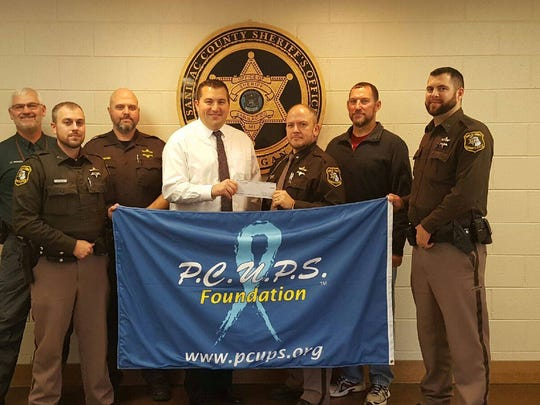 The Sanilac County Sheriff Department is participating