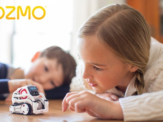 These 45 toys and products have earned the NAPPA seal of approval in 2017. Pictured is the robot toy Cozmo.