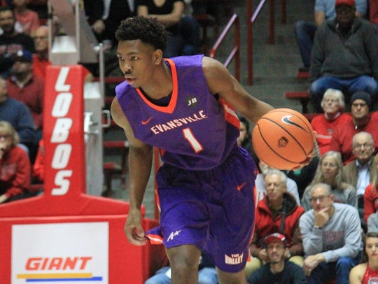 UE junior Marty Hill scored four points and grabbed