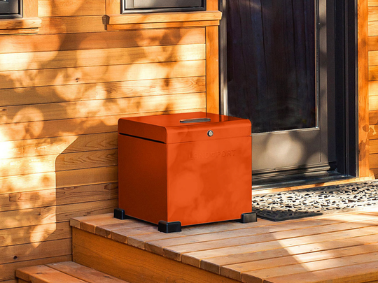 Security boxes are one way to ensure the safety or your delivered packages.