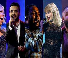 Cardi B, Luis Fonsi, Kendrick Lamar, Taylor Swift and DJ Khaled were responsible for some of 2017's biggest releases.