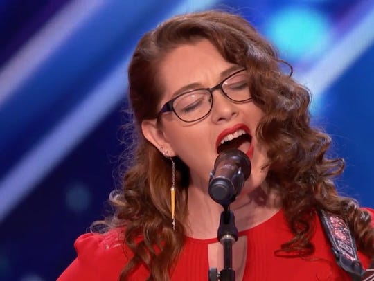 Mandy Harvey grabbed the nation's attention with her