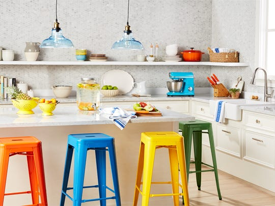 An example of the industrial kitchen style that will be part of Walmart.com's new, revamped home shopping experience.
