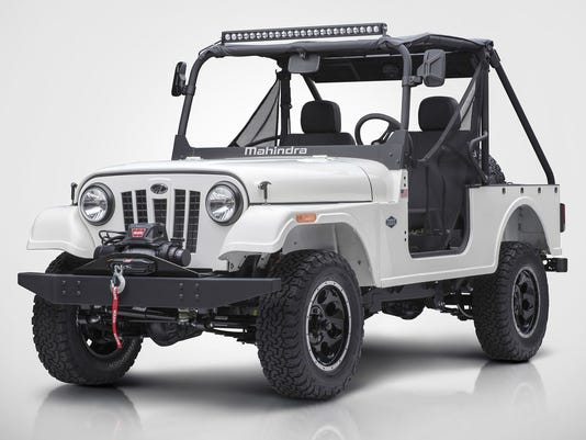 fiat chrysler tries to block sale of mahindra roxor off road vehicle