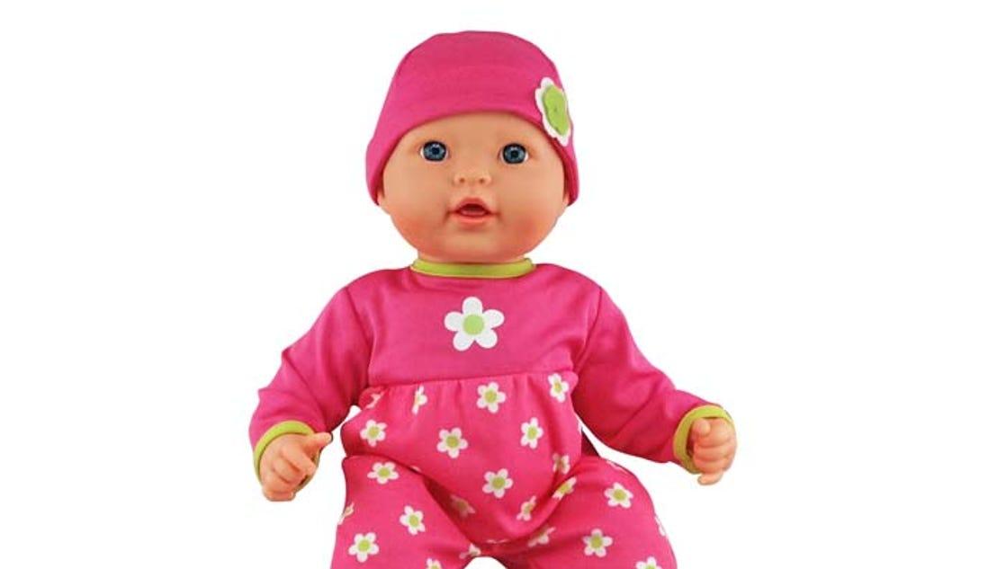Wal-Mart recalls baby dolls over burn risk