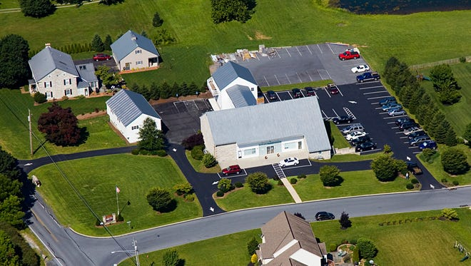 1. Shown here, is Steckbeck Engineering's office headquarters at 279 North Zinns Mill Road in West Cornwall Township.