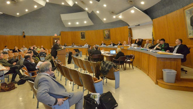 A year after its first hearing, members of the public had their say regarding a mixed-use project proposing to construct a 232-unit apartment building, a liquor-licensed restaurant and a retail building on a long vacant Route 23 property.