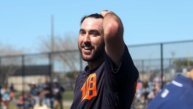 """Justin Verlander, entering his 12th season, says mentoring """"just kind of comes with the territory."""""""