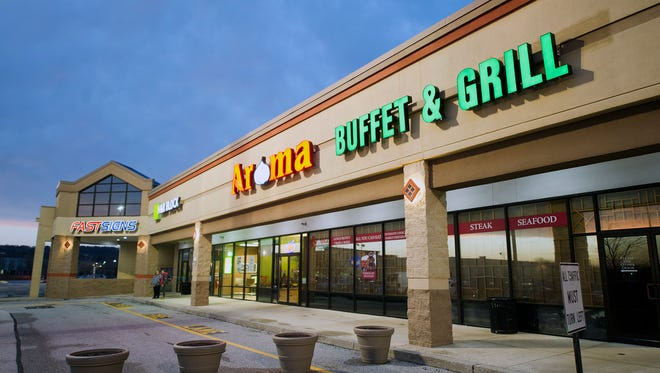 Aroma Buffet & Grill in Springettsbury Township. The restaurant was closed for two weeks after four of its employees were arrested by U.S. Immigration & Customs Enforcement.