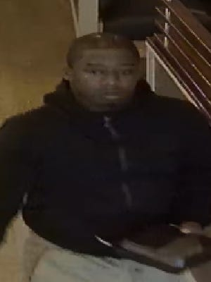 Hackettstown police released security photos of a man exiting the Hackettstown IHOP after stealing a wallet. April 24, 2018