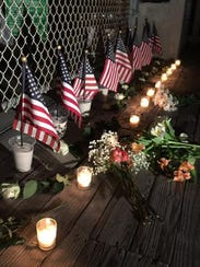 Residents of Navarre Beach, Fla., had a candlelight