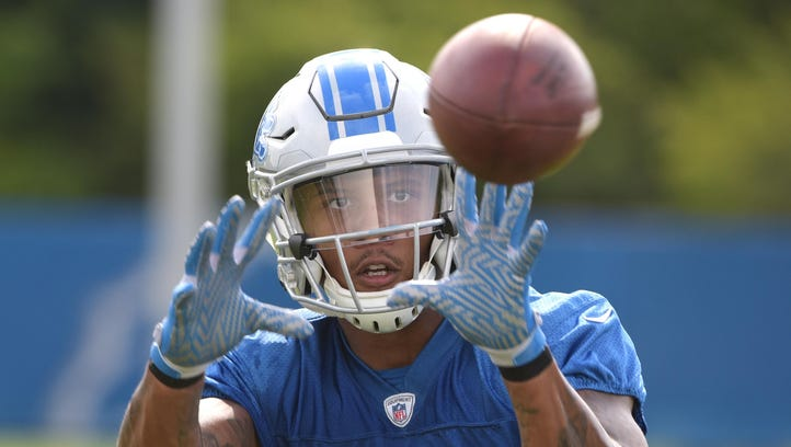 Wojo: Lions' Kenny Golladay handles the heat, and the hype