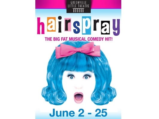 Enter for your chance to win a pair of tickets to go see the hit play 'Hairspray'. Enter 5/10 - 5/31