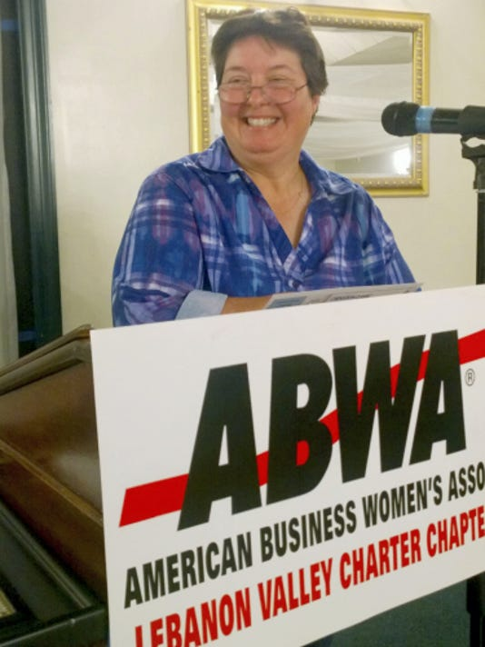 Jennifer Eisenhower served as the guest speaker at the ABWA monthly meeting. Submitted