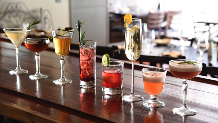 La Chasse cocktail menu gets a spring makeover