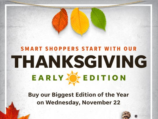This Thanksgiving, buy our biggest edition of the year
