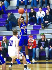 Trevor Jones (2) gave the Waynesboro a much-needed spark against Greencastle-Antrim. On Saturday, the Indians take on Gettysburg in the YAIAA vs. Mid Penn Challenge showcase.
