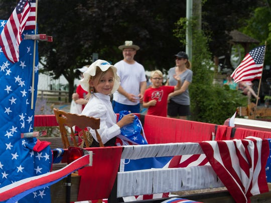 "The theme for this year's July 4 parade at Lake Junaluska is ""This Land is Our Land: Celebrating Our National Parks."""
