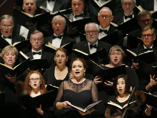 The Milwaukee Symphony Orchestra and Chorus (shown