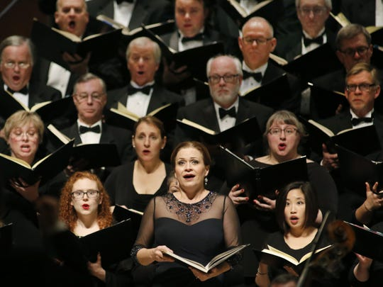 """The Milwaukee Symphony Orchestra and Chorus (shown in 2015) bring Handel's """"Messiah"""" back this weekend."""