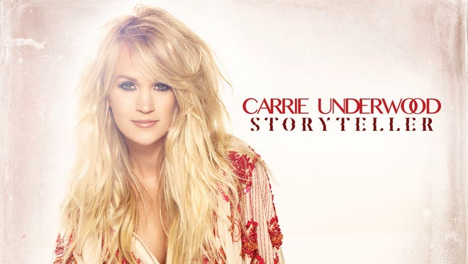 """This CD cover image released by Sony Nashville/Arista shows """"Storyteller,"""" the latest release by Carrie Underwood."""