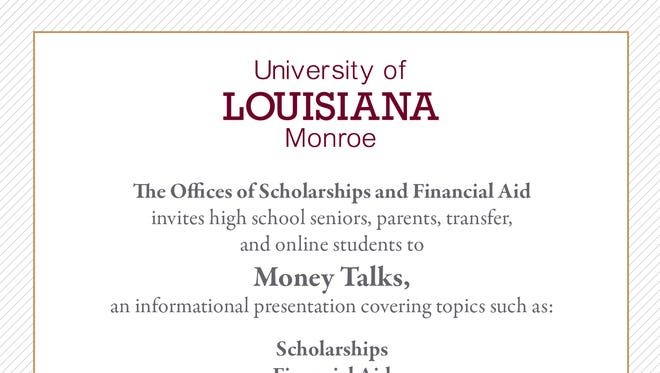 ULM to hold seminar discussing scholarships and financial aid Saturday