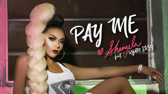 "Shangela's single, ""Pay Me,"" is available on iTunes"