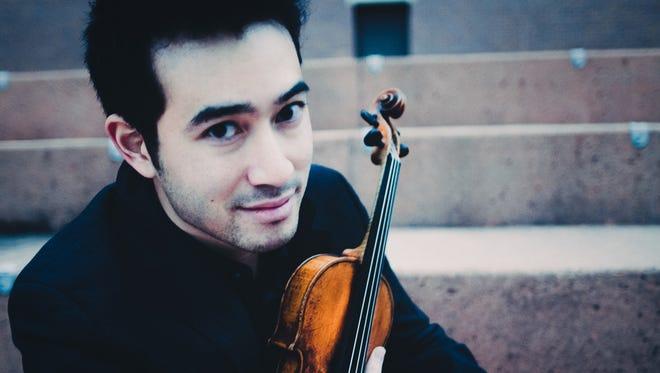 Internationally acclaimed violinist Suliman Tekalli helps the Space Coast Symphony close its ninth season on May 26.
