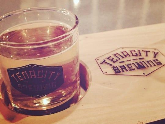 Flint brewery Tenacity Brewing owners on Jan. 20, 2016