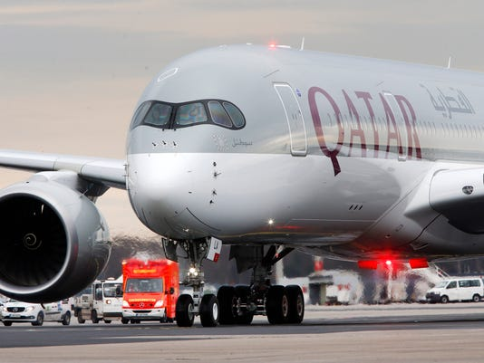 Germany Qatar Airbus 350