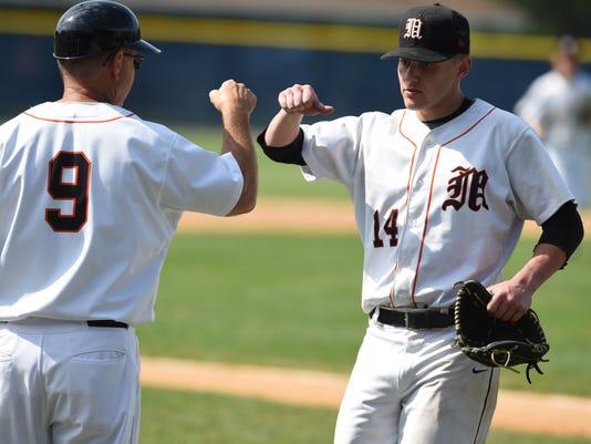 Marlboro baseball vs Keio Academy